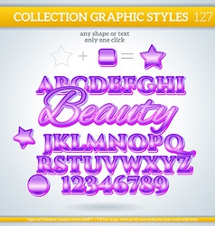 Beauty graphic style for design vector