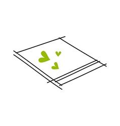 Icon memo vector