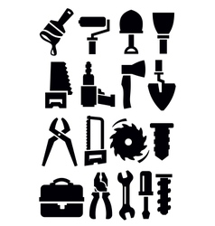 Construction tools vector