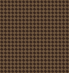Diagonal brown beige seamless fabric texture vector