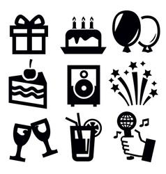 Birthday icon vector