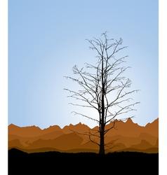 Tree trunk vector