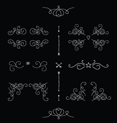Ornate frames vector