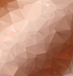 Brown beige diagonal polygonal triangular pattern vector