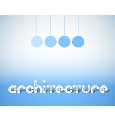 Abstract combination of word architecture vector