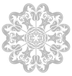 Damask orient pattern vector