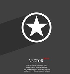 Star favorite icon symbol flat modern web design vector