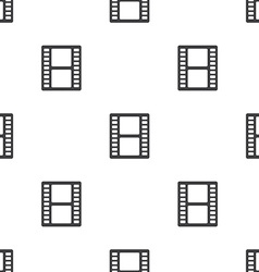 Film seamless pattern vector