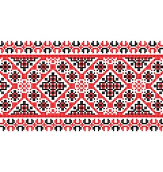 National pattern fabric texture horizontal vector