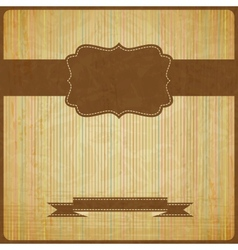Eps10 vintage grunge old card background with vector