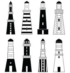 Lighthouses vector