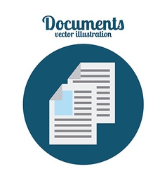 Documents icon vector