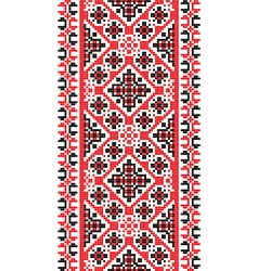 National pattern fabric texture vertical vector
