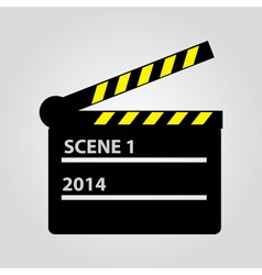 Film flap eps10 vector