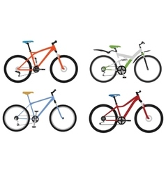 Bicycles part 2 vector