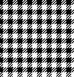 Gingham pattern vector