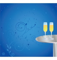 Champagne celebrations vector