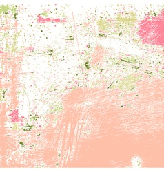Painted grunge texture vector