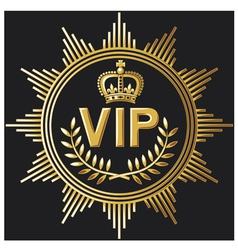 Vip design - very important person sign vector