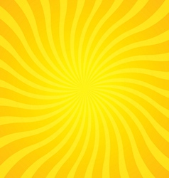 Popular gold color twist rotate ray background vector