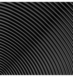 Design monochrome parallel waving lines background vector