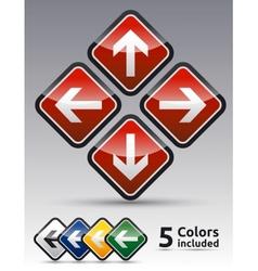 Arrow directions icon vector