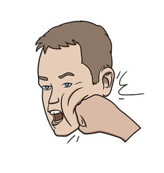 Face punch vector