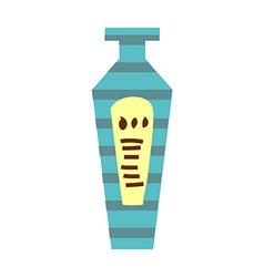 One bottle vector