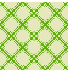 Green seamless pattern vector