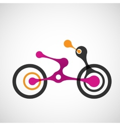 Abstract moto transport eps vector