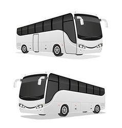 Big tour bus 03 vector