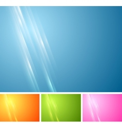 Tech vibrant abstract background vector