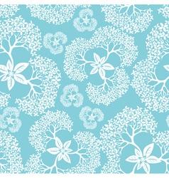 Flower seamless vector