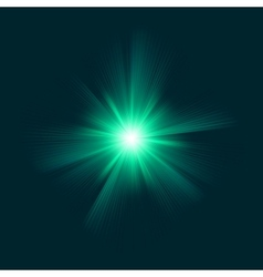 Blue green color design with a burst eps 8 vector