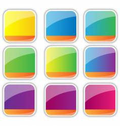 Icon backgrounds vector