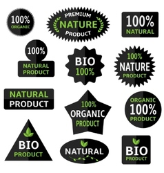 Bio labels vector