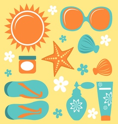 Summer collection vector