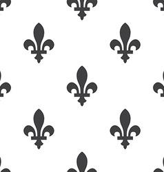 Fleur-de-lys seamless pattern vector