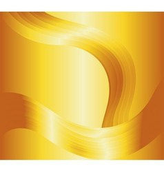 Liquid gold background vector