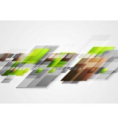 Bright hi-tech abstract design vector