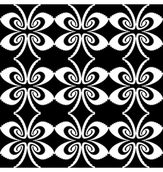 Design seamless decorative butterfly pattern vector