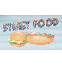 Street food vector