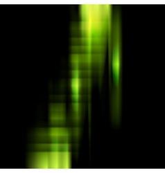 Conceptual dark green stripes background vector