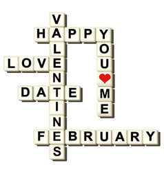 Valentine love game vector