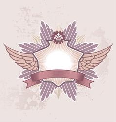Shield badge vector
