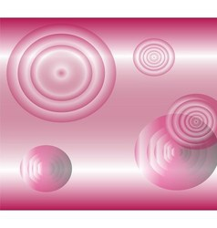 Light effects circle pink background vector