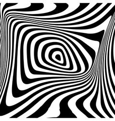 Design monochrome swirl movement background vector