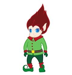 Elfin creature vector
