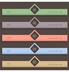 Creative design template vector