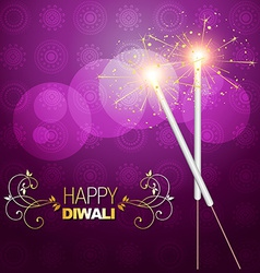 Diwali crackers vector